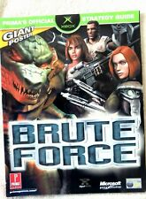 52233 Brute Force Prima's Official Strategy Guide + Poster