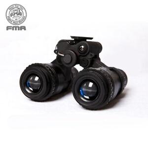 FMA Dummy Model Metal Style Helmet PVS15 Night Vision No function Binocular Camo
