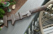 Vintage H.D.Smith & Co. Perfect Handle Adjustable Hammer Wrench Heavy 12