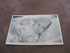 Royal Family postcard - Baby Prince Charles