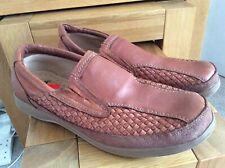 Clarks Superlight Mens Tan Brown Leather Slip on Shoes UK 10 EU 44