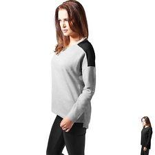 Feine Langarm Damen-Pullover ohne Muster