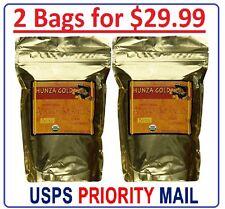 """2 Bags - Hunza Gold """"Organic"""" Bitter Raw Apricot Kernels Vitamin B1 7 B15 454gr"""