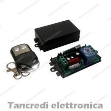 Scheda Ricevente Ricevitore 220V 433 Mhz 1 Relè Canale Telecomando Centralina