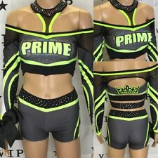 Real Cheerleading Uniform  Allstar  Prime Cheerleader Adult XS