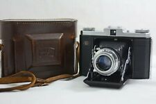 ANTIQUE VINTAGE ZEISS IKONTA B (523/16) 120 FILM CAMERA WITH CASE 1954-56
