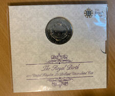 More details for 2015 the royal birth princess charlotte five 5 pound coin royal mint pack bu rm