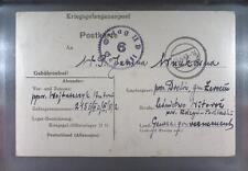 Camp Oflag IID Grossborn 1943 POW Prisoner of War Kriegsgefangenenpost (K6)