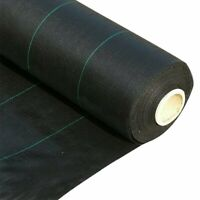 Weed Control Membrane Fabric Ground Cover Plants Mat Landscape Garden Weed Block