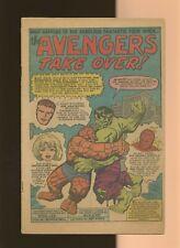 Fantastic Four 26 Coverless * 1 Book Lot * Avengers! Hulk! Stan Lee & Jack Kirby