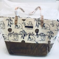 Petunia Pickle Bottom Winnie the Pooh and Pals Sketch Tote Travel Bag Purse NEW