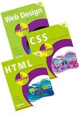 Web Design in easy steps, CSS in easy steps, HTML in easy steps - SPECIAL OFFER