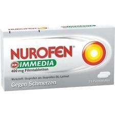 NUROFEN Immedia 400 mg Filmtabletten 24St Filmtabletten PZN 8794459