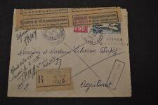 lettre 1971 centre de recherche du courrier 9 cachets