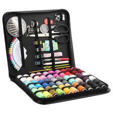 112Pcs/Set Travel Sewing Kit Scissor Threader Needles Beginner Sew Tools Repair