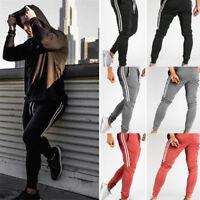 Men Long Casual Sport Pants Gym Slim Fit Trousers Running Joggers Gym Sweatpants
