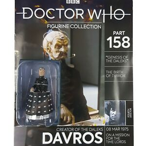 Doctor Who Figurine Collection DAVROS Dalek Figure Eaglemoss Issue 158