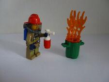 LEGO City 60214 POMPIERI uso in Burger-RISTORANTE NUOVO E OVP