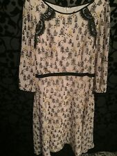 M&S Collection 40s Style Birdcage Summer Tea Dress , Size 12