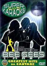 SUPER KARAOKE: BEE GEES 12 Greatest Hits da Cantare DVD SEALED
