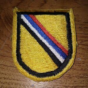 US Army Special Forces Korea Detatchment Beret Flash