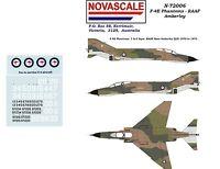RAAF F-4E Phantom Decals 1/72 Scale N72036
