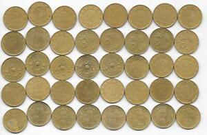 Flea Market Lot- 40 Italy Italian 200 Lire Mixed Date & Type 1978-1997 Hi Grade