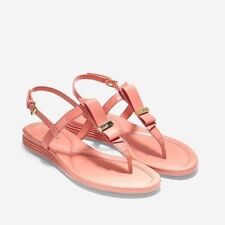 c672c07e619 COLE HAAN Coral Patent Marnie Grand Thong Sandal Woman Size US 8.5 EU 39