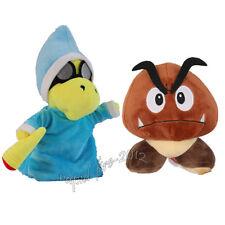 2pcs Super Mario Bros Magikoopa Goomba Plush Doll Figure Stuffed Toy Xmas Gift