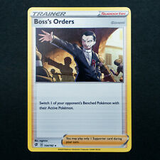 Pokemon Boss/'s Orders Rebel Clash SWSH2 154//192 Trainer Card Non-Holo Rare