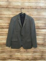 J Crew Mens Vitale Barberis Canonico Slim Fit Ludlow Jacket Blazer Gray Wool 44R