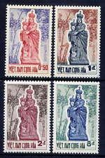 VIETNAM, SOUTH Sc#193-6 1962 Madonna of Vang MNH