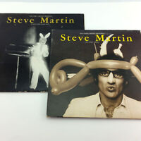 Lot 2 Steve Martin Records Comedy Albums Let's Get Small A Wild And Crazy Guy