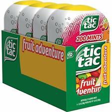 Tic Tac Fresh Breath Mints Fruit Adventure Bulk Hard Candy (4 Count)