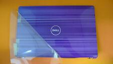 NEW Dell Studio 1555 1557 1558  LCD Back Cover w/Hinges Purple Horizon T220N