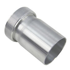 "ASI Aluminium Weld On Tank Filler Neck & Cap 1.85"" ID UK Local Stock Fast"