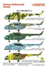 Techmod 1/35 mil Mi-8MT/Mi-17 Hip-h helicóptero # 35102