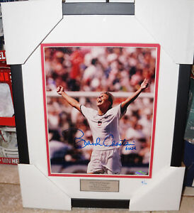 Brandi Chastain  Steiner Autographed Photo Framed Limited Edition /10 USA Soccer