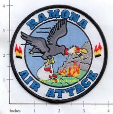 California - Ramona Air Attack CA Forest Fire Dept Patch