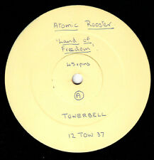 "Atomic Rooster - Land Of Freedom UK 12 "" inch White Label Promo 1983 Very Rare !"