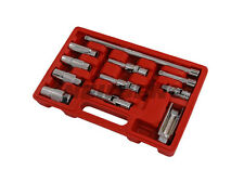 NEILSEN SPARK GLOW PLUG SOCKET SET 11 PIECE MASTER SERVICE KIT THIN WALL