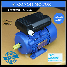 0.37kw 0.5HP 1400rpm REVERSIBLE CSCR Electrical motor single-phase 240v