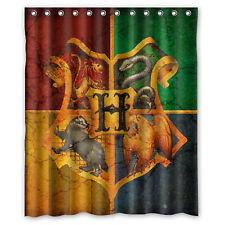 Harry Potter Hogwarts Fabric Durable Waterproof Shower Curtain 60'' x 72''