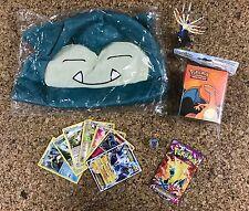 Pokemon Gift Box 5 random item GX Hats Cards Packs Toys Dice+M ?Rayquaza Mewtwo?