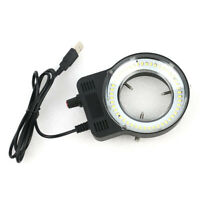 48 LED SMD USB LáMpara de Iluminador de Luz de Anillo Ajustable para Micros U5S4