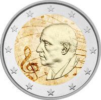 2 Euro Gedenkmünze Griechenland 2016 coloriert m. Farbe / Farbmünze Mitropoulos