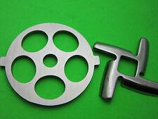 "5/8"" (16mm) Grinder plate & knife for Kitchenaid Mixer FGA Meat Food Chopper"