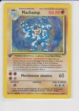 Pokemon Card Rare First Edition Prima Edizione Holo Machamp Base set 8/102 Ita