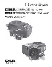 KOHLER SV710-SV740 MOTORE coraggio Manuale di servizio (B403)