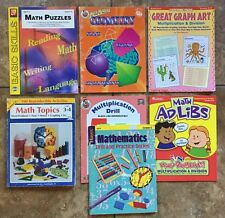 Pack of 7 Math Resources for Gr 3-4